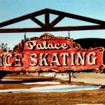 Palace Ice Skating sign